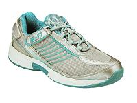 ORTHOFEET Verve Turquoise/White